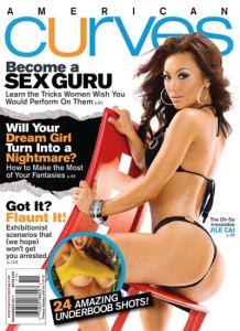 Cover American Curves – November 2011