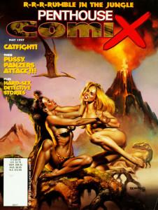 Cover Penthouse Comix vol2 22