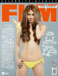 Cover FHM – Ladies Confession Volume 8, 2014
