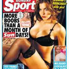 Sunday Sport – 25 January 2015