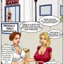 Sperm Bank 2 – Cheating Comics