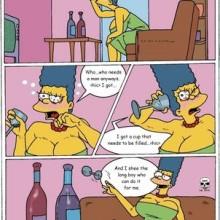 Simpson comic Bart naked