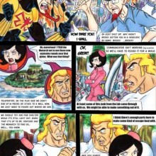 Venture Bros. Cheating Comics
