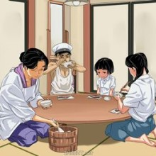Japan Family Problems – Incest Comics