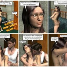 Mother and Son 3D Incest Comics