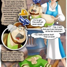 Beauty Under The Beast – Incest and Parody Comics