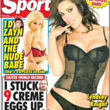 Sunday Sport – 7 April 2015