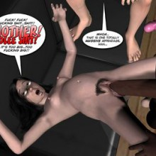 Family' Poke-Her' Night – 3D Incest Comics