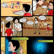 Egyptian Magic – Mother and Son Comics