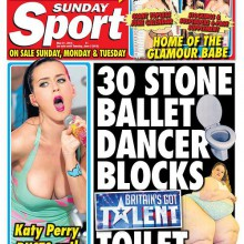 Sunday Sport – 31 May 2015