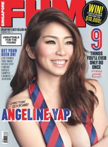 Cover FHM Singapore – February 2015