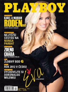 Cover Playboy Czech – January/February 2013