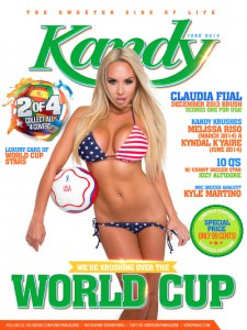 Cover Kandy – June 2014 USA Cover