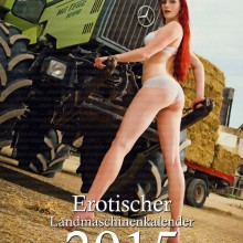 Land Maschinen – Official Erotic Calendar 2015
