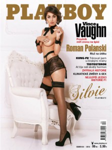 Cover Playboy Czech Republic – April 2015