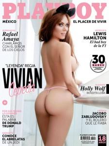 Cover Playboy Mexico – Agosto 2015