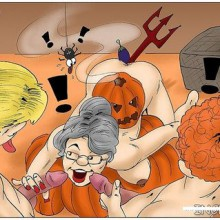 A funny Halloween