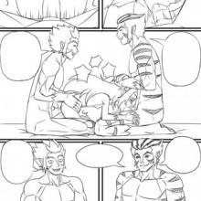 Loli-Cheetara Comic
